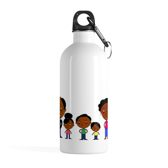 Black Family Magic in Stainless Steel Water Bottle