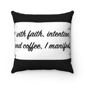 I Manifest! Breathe MBB Accent Square Pillow