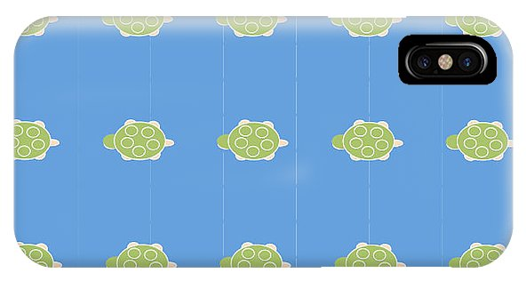 Baby Turtle Flow In Ocean - Phone Case