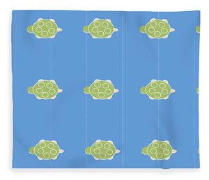 Baby Turtle Flow In Ocean - Blanket
