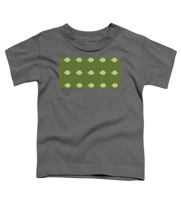 Baby Turtle Flow In Pond - Toddler T-Shirt