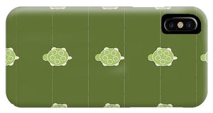 Baby Turtle Flow In Pond - Phone Case
