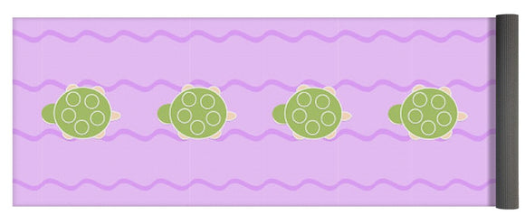 Baby Turtle Flow In Stream - Yoga Mat