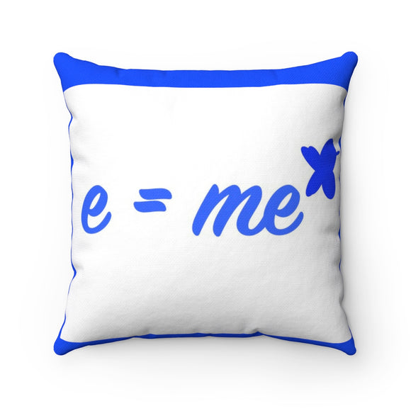 Energy equals Me Squared Breathe MBB Accent Square Pillow