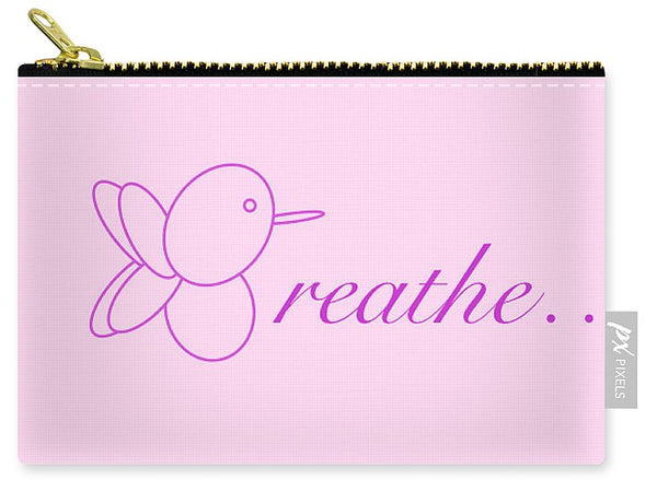 Breathe... In Blush - Carry-All Pouch
