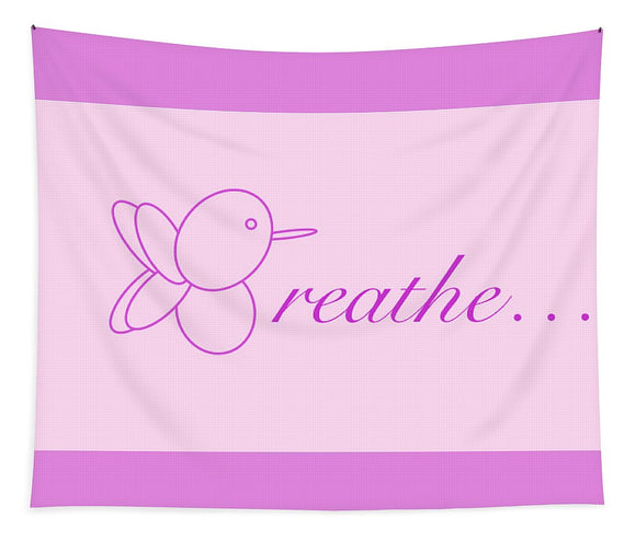 Breathe... In Blush - Tapestry