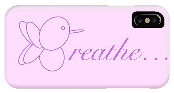 Breathe... In Lilac - Phone Case