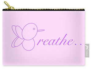Breathe... In Lilac - Carry-All Pouch