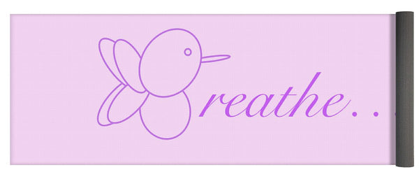 Breathe... In Lilac - Yoga Mat