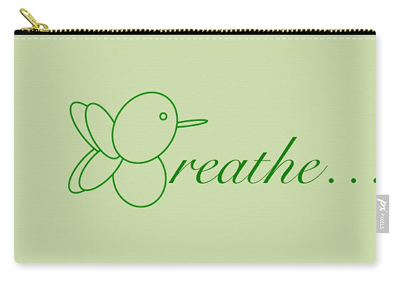 Breathe... In Sage - Carry-All Pouch