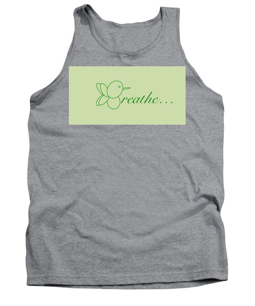 Breathe... In Sage - Tank Top