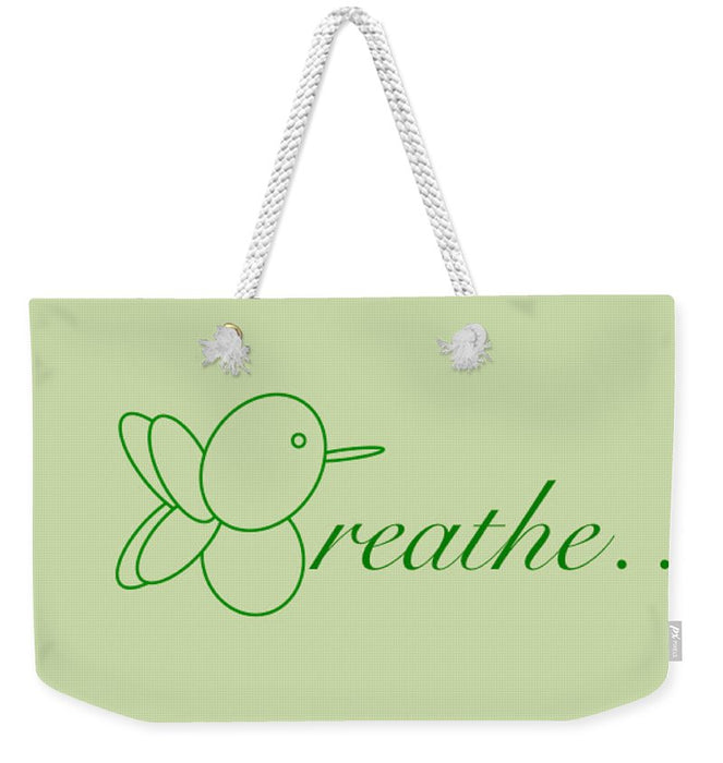 Breathe... In Sage - Weekender Tote Bag