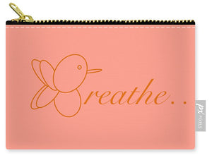Breathe... In Salmon - Carry-All Pouch