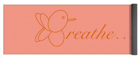 Breathe... In Salmon - Yoga Mat