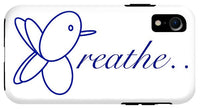 Breathe.... In Snow - Phone Case