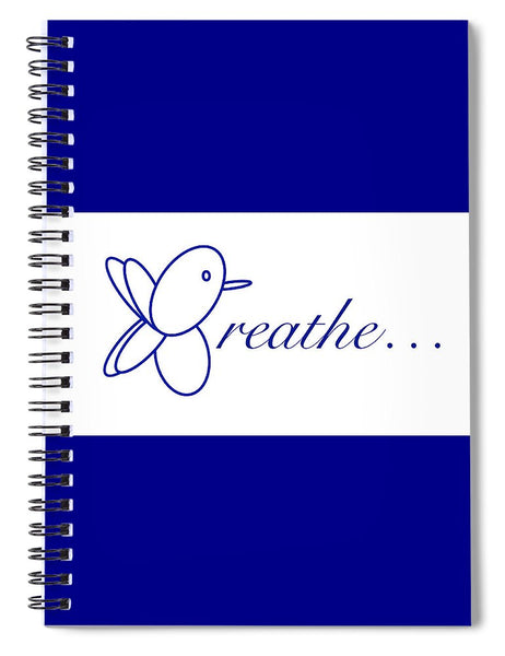 Breathe.... In Snow - Spiral Notebook