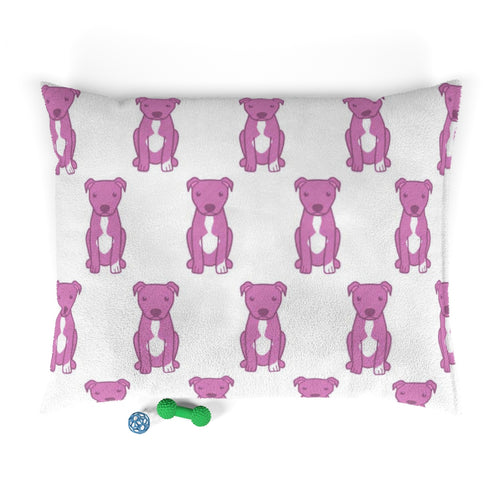 Moma's Pink Party Print Pet Bed