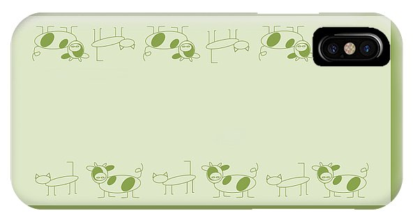 Cat Cow Sage  - Phone Case