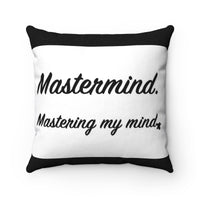 Mastermind Breathe MBB Accent Square Pillow