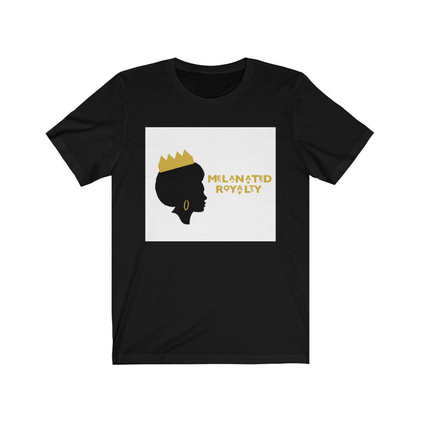 Melanated Royalty Crowned Sista Short Sleeve Tee