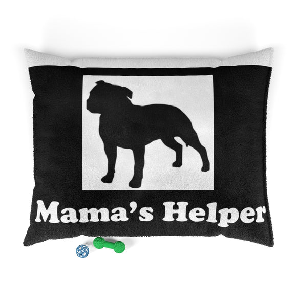 Mama's Helper Moma Super Pet Bed (Black)