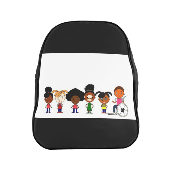 Black Girl Magic School Backpack