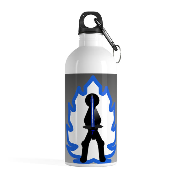 Tai Blue Flame Aura Stainless Steel Water Bottle