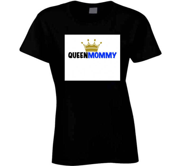 Queen Mommy Crown Mbbmom T Shirt