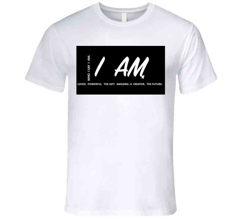 I Am Inspirational Gift W&red 2 T Shirt