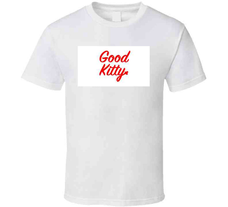 Good Kitty Red T Shirt