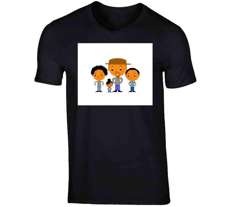 Father And 3 Kids Breathe Mbbdad T Shirt