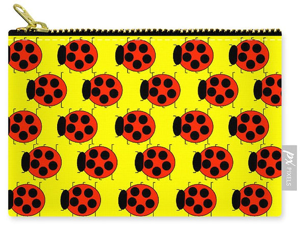 Lady Bug Dazzle - Carry-All Pouch