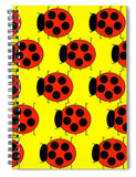 Lady Bug Dazzle - Spiral Notebook