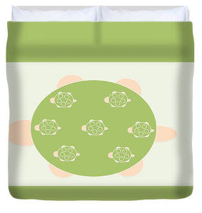 Mama Turtle Journey - Duvet Cover