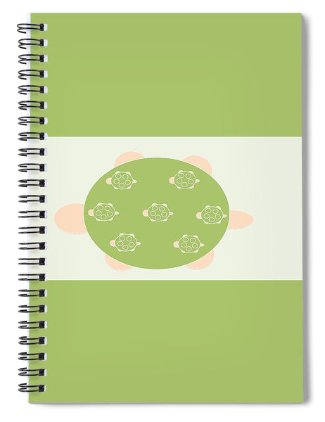 Mama Turtle Journey - Spiral Notebook