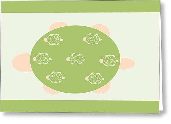 Mama Turtle Journey - Greeting Card