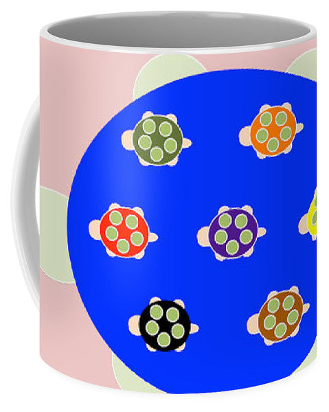 Mama Turtle Journey Color - Mug