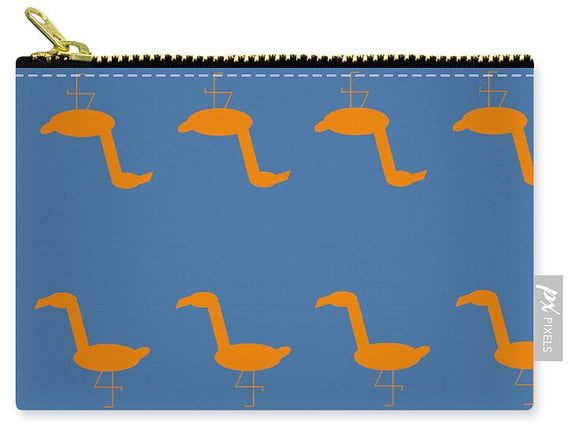 Mango Flamingo Pose - Carry-All Pouch
