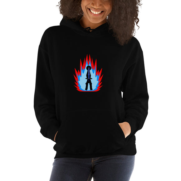 Tai Flame on Black Special Edition UNISEX Hooded Sweatshirt