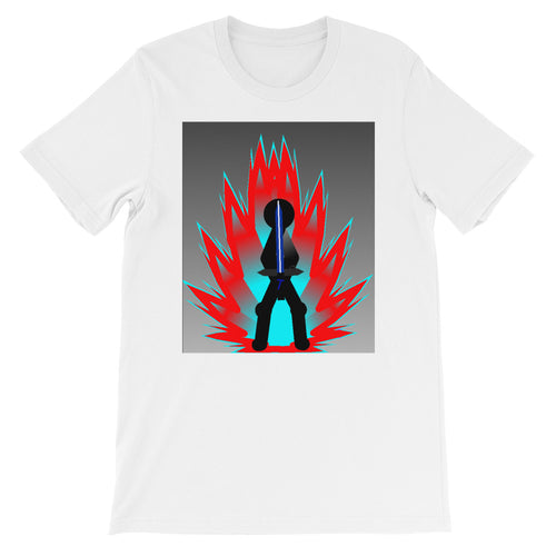 Tai Red Flame Aura Short-Sleeve Unisex T-Shirt