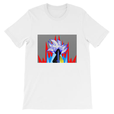 Ultra Tai Red Aura Short-Sleeve Unisex T-Shirt