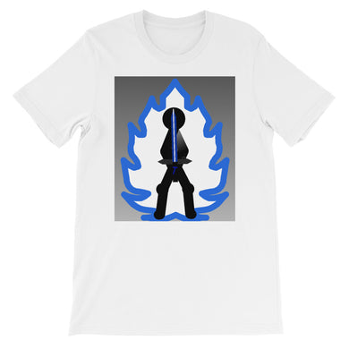 Tai Blue Flame Aura Short-Sleeve Unisex T-Shirt