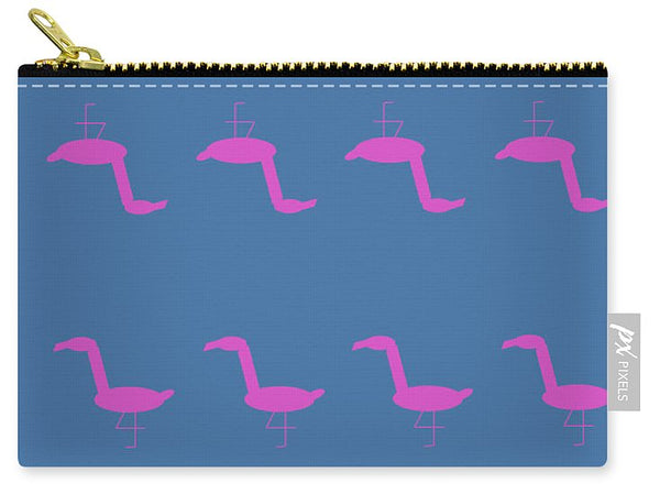 Pink Flamingo Pose - Carry-All Pouch