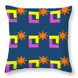 Sun Pose Sunset - Throw Pillow