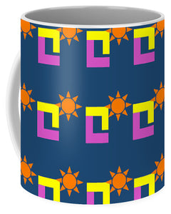 Sun Pose Sunset - Mug