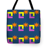 Sun Pose Sunset - Tote Bag
