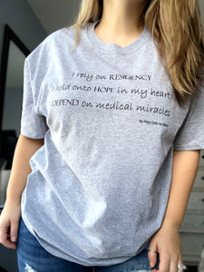 I depend on Medical Miracles T-Shirt- women's