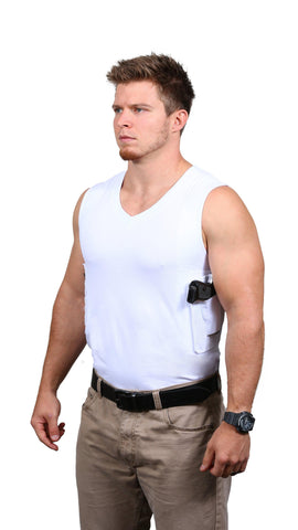 Packin' Tee ® Men's Shirt with Holster - V Neck