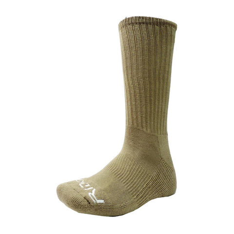 154/155 Men's Tan Crew Socks