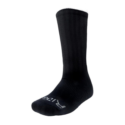 150/151 Men's Black Crew Socks